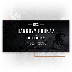 Dárkový poukaz na 10 000 Kč