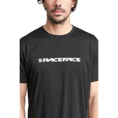 RACE FACE triko kr.rukáv CLASSIC LOGO černá