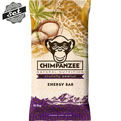 CHIMPANZEE  ENERGY BAR Crunchy Peanut 55g - SET 4+1 (5x55g)
