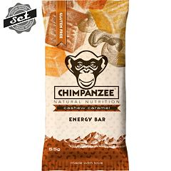 CHIMPANZEE  ENERGY BAR Cashew Caramel 55g - SET 4+1 (5x55g)