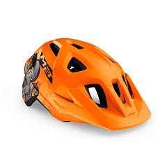MET přilba ELDAR octopus/oranžová -52/57