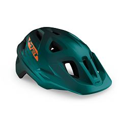 MET přilba ECHO alpine zelená/oranžová -57/60