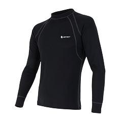 SENSOR DOUBLE FACE pánské triko dl.rukáv černá