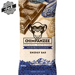 CHIMPANZEE  ENERGY BAR Dates - Chocolate 55g - SET 4+1 (5x55g)