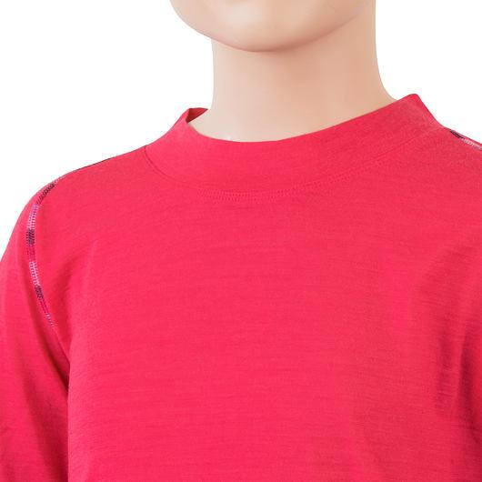 SENSOR MERINO AIR SET dětský triko dl.rukáv + spodky magenta