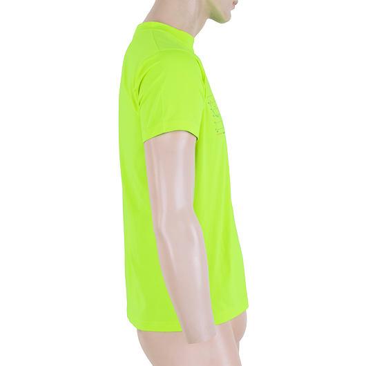 SENSOR COOLMAX FRESH PT TRACK pánské triko kr.rukáv reflex žlutá