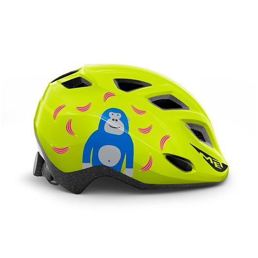 MET přilba ELFO dětská opice/lime zelená -46/53