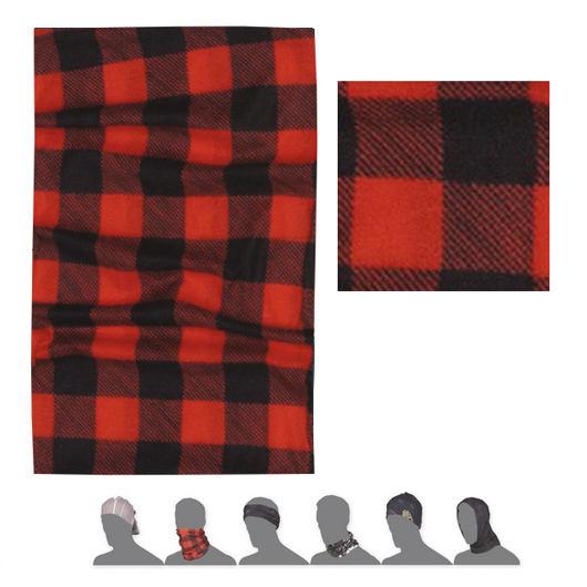 SENSOR TUBE SQUARE šátek multifunkční červená/černá