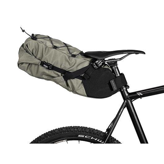 TOPEAK bikepacking BACKLOADER, rolovací brašna na sedlovku 10l zelená