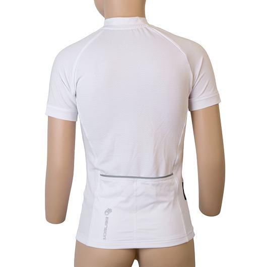 SENSOR CYKLO ENTRY dětský dres kr.rukáv bílá Unicorn