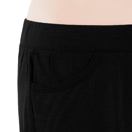 SENSOR MERINO ACTIVE dámská sukně černá