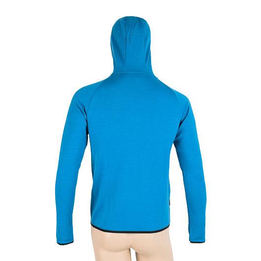 SENSOR MERINO UPPER COMPASS pánská mikina klokanka modrá