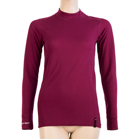 SENSOR DOUBLE FACE dámské triko dl.rukáv lilla