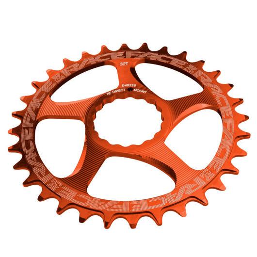 RACE FACE převodník SINGLE Direct Mount, N/W 34T 10-12SPD oranžová