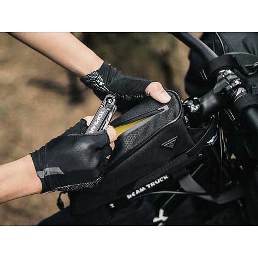 TOPEAK bikepacking TOPLOADER, brašna na rám 0,75l černá