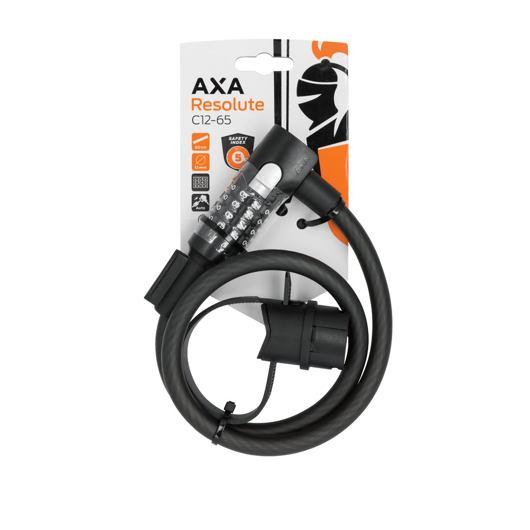 AXA zámek Resolute 65/12 kód černá