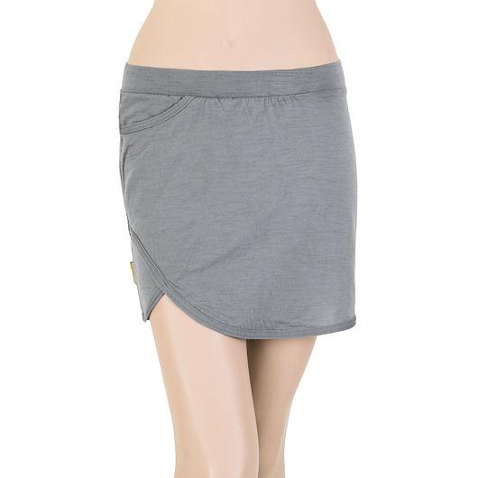 SENSOR MERINO ACTIVE dámská sukně šedá
