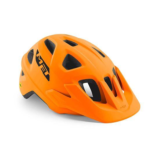 MET přilba ECHO MIPS oranžová -52/57