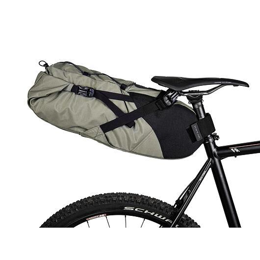 TOPEAK bikepacking BACKLOADER, rolovací brašna na sedlovku 15l zelená