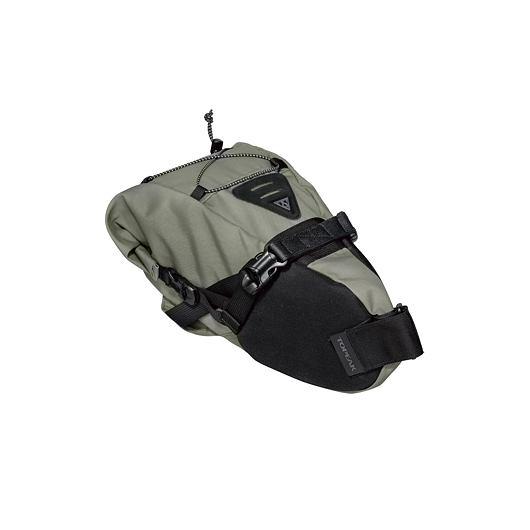 TOPEAK bikepacking BACKLOADER, rolovací brašna na sedlovku 6l zelená