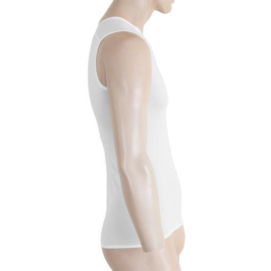 SENSOR COOLMAX AIR pánské triko bez rukávů bílá