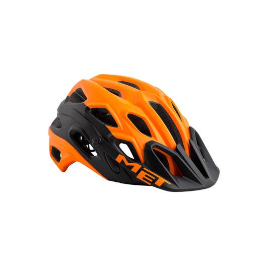MET přilba LUPO oranžová/černá -59/62