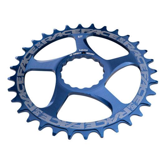 RACE FACE převodník SINGLE Direct Mount, N/W 30T 10-12SPD modrá